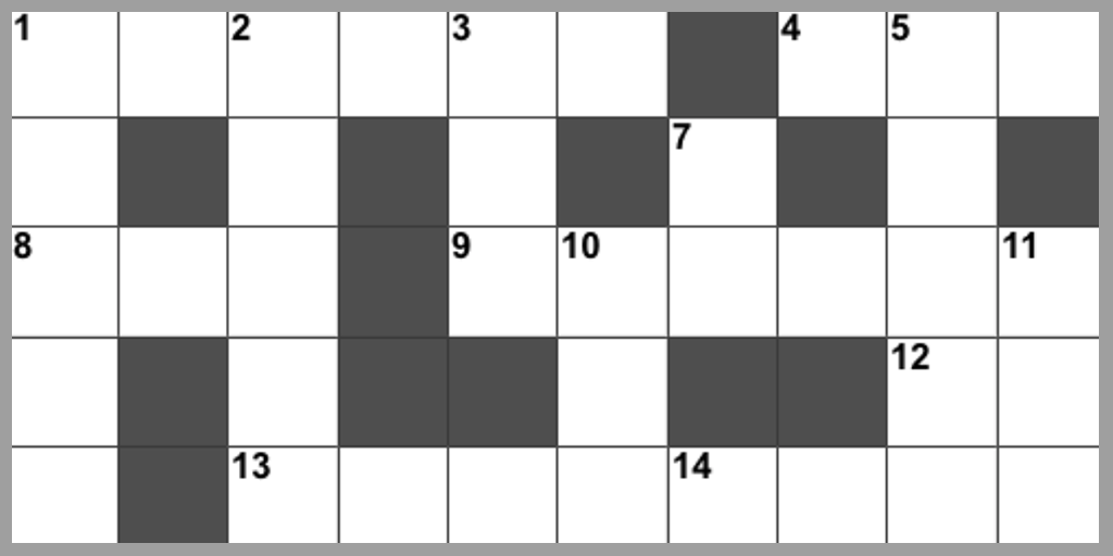 Crossword – Summer 2019