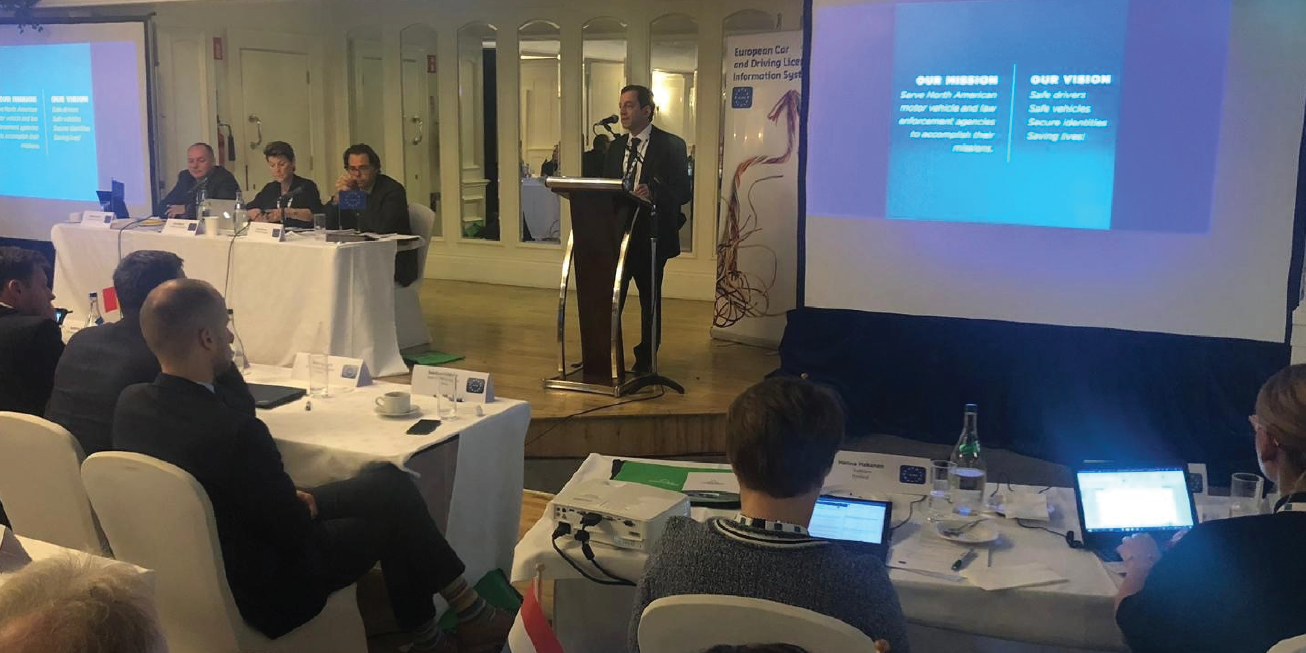 AAMVA Presents at EUCARIS General Assembly